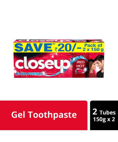 CLOSEUP RED HOT DEEP ACTION TOOTHPASTE 300GM