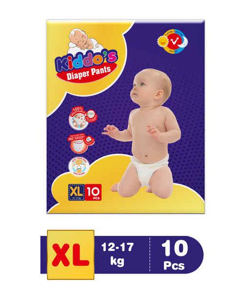 KIDDOS DIAPER PANTS XL 10S