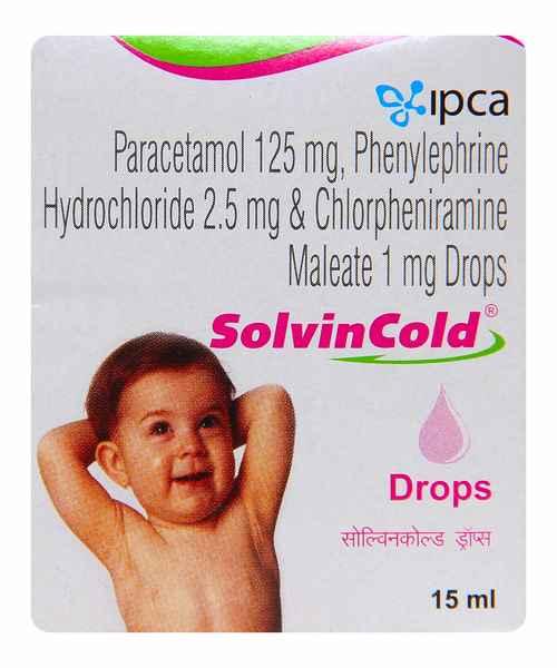 SOLVIN COLD 15ML DROPS