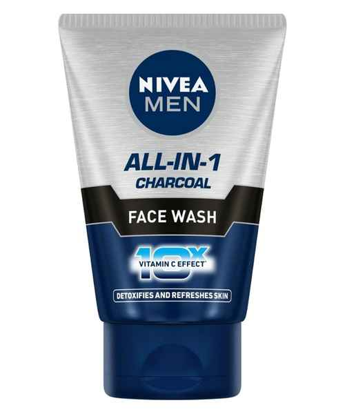 NIVEA MEN ALL-IN-1 CHARCOAL FACE WASH 50 GM
