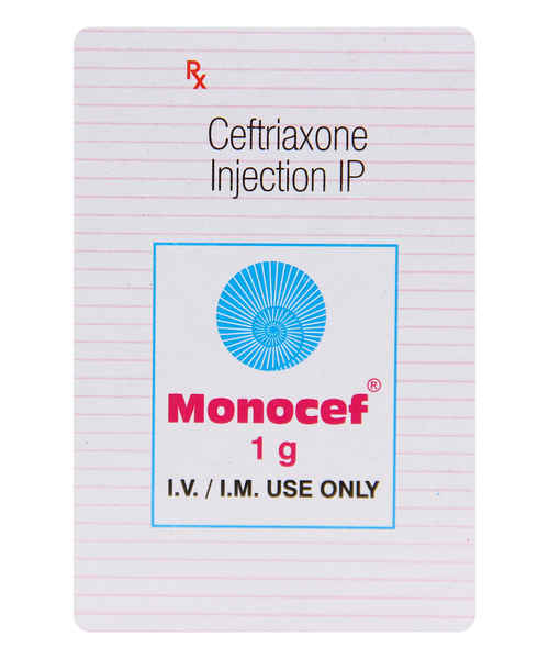 MONOCEF 1GM INJ