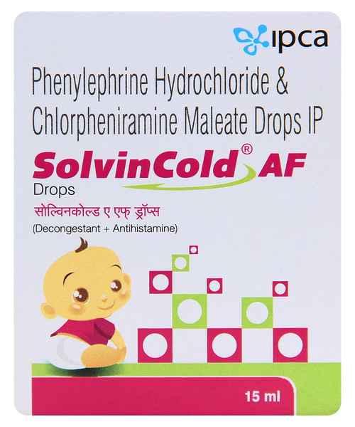 SOLVIN COLD AF 15ML DROPS