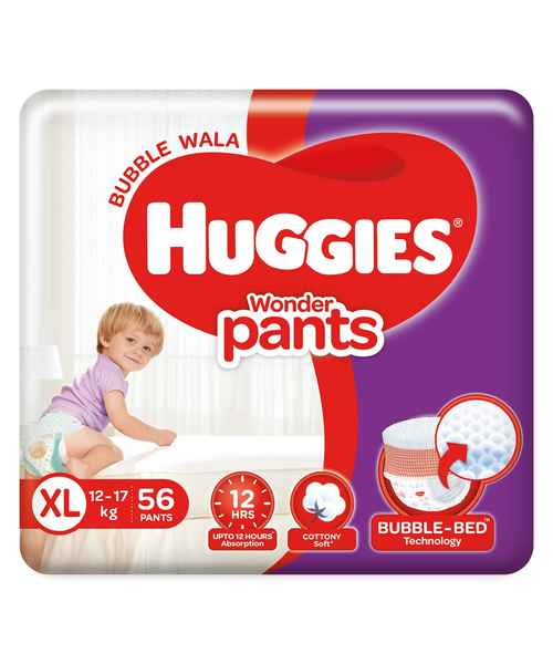 HUGGIES WONDER PANTS XL 56