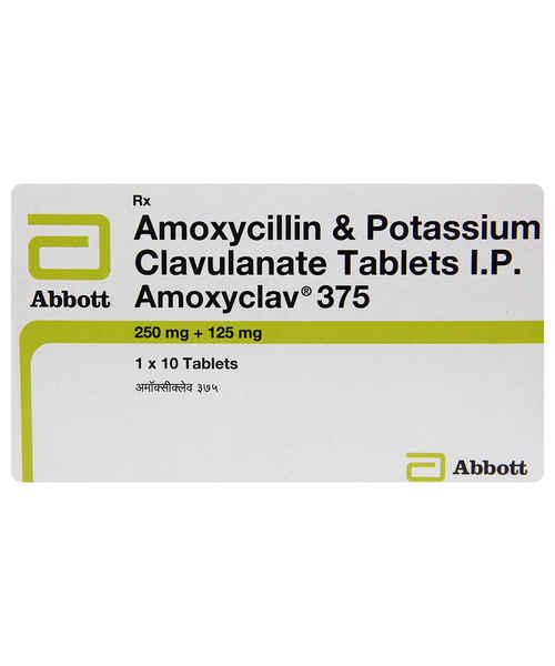 AMOXYCLAV 375MG TAB
