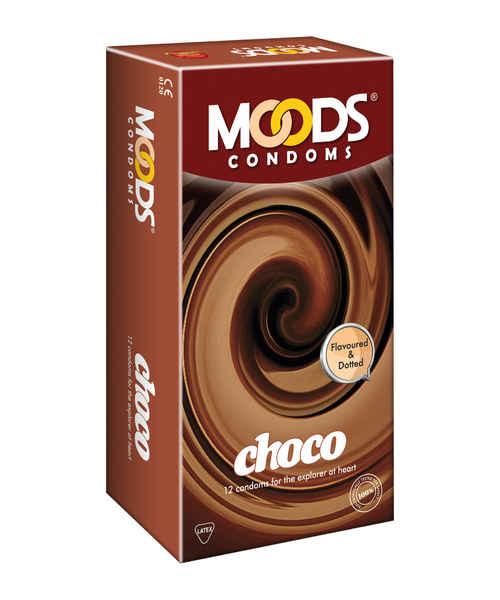 MOODS CHOCO CONDOMS 12S